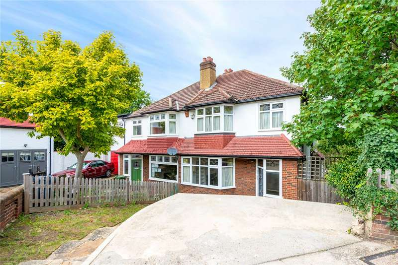 3 Bedrooms Semi Detached House for rent in Cambrian Close, York Hill, London, SE27
