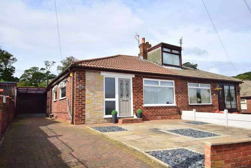 2 Bedrooms Semi Detached Bungalow for sale in Bleasdale Avenue, Kirkham, PR4 2HR