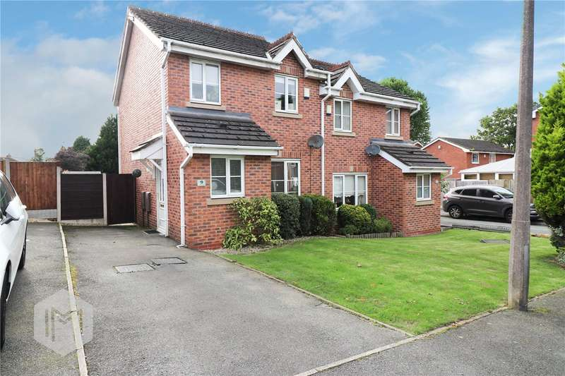 3 Bedrooms Semi Detached House for sale in Irvine Avenue, Worsley, Manchester, Greater Manchester, M28