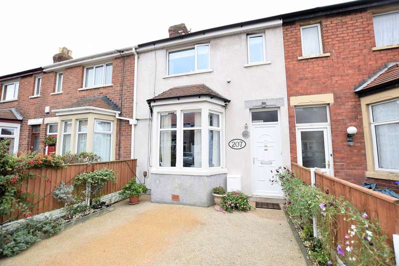 2 Bedrooms Terraced House for sale in Newhouse Road, Blackpool