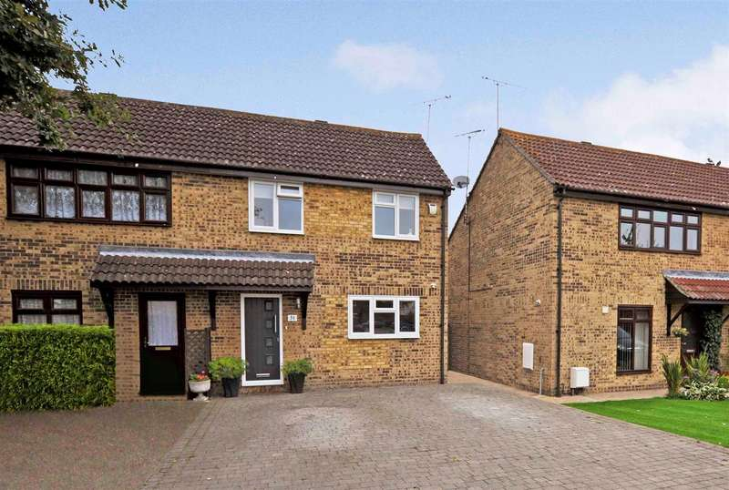 3 Bedrooms Semi Detached House for sale in Lodge Close, Rayleigh