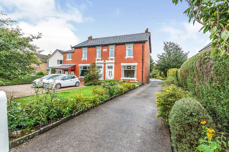 4 Bedrooms Semi Detached House for sale in Brooklands, Whittingham Road, Longridge, Preston, PR3
