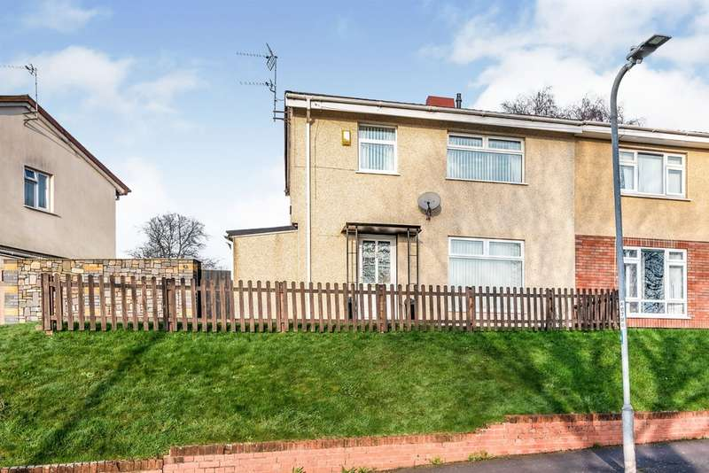 3 Bedrooms Semi Detached House for sale in Darwin Drive, Newport