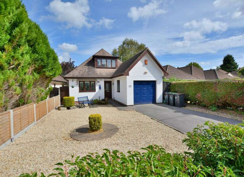 3 Bedrooms Detached House for sale in Stanfield Road, Ferndown, Dorset, BH22 9PA