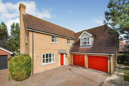 4 Bedrooms Detached House for sale in Great Baddow, Chelmsford, Essex