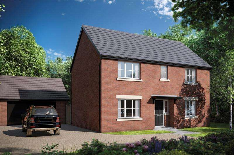 4 Bedrooms Detached House for sale in Picklenash Court, Ross Road, Newent, Gloucestershire, GL18