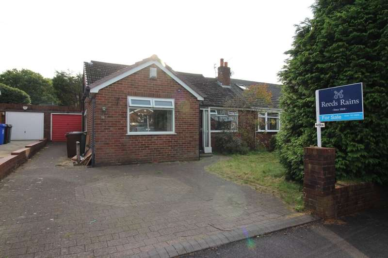 3 Bedrooms Semi Detached Bungalow for sale in Crag Avenue, Bury, BL9