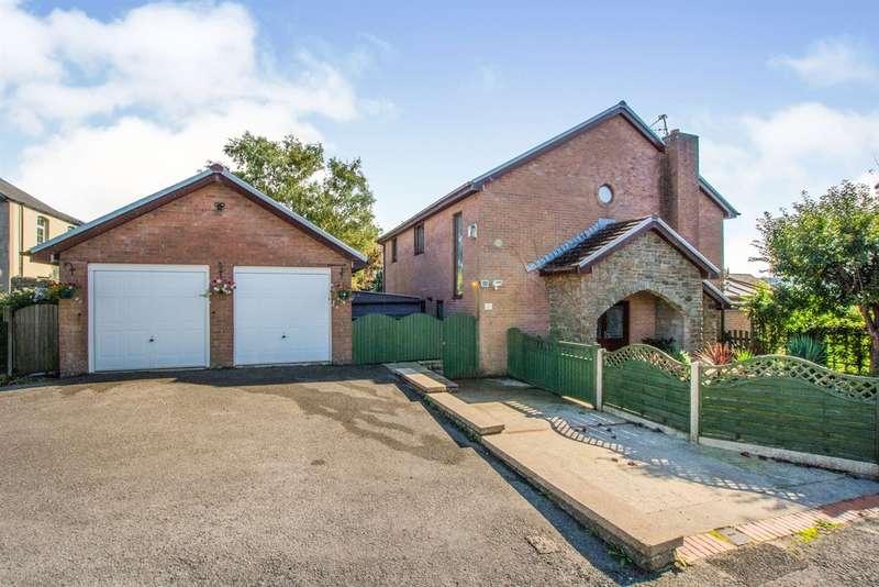 4 Bedrooms Detached House for sale in Neville Street, Garndiffaith, Pontypool