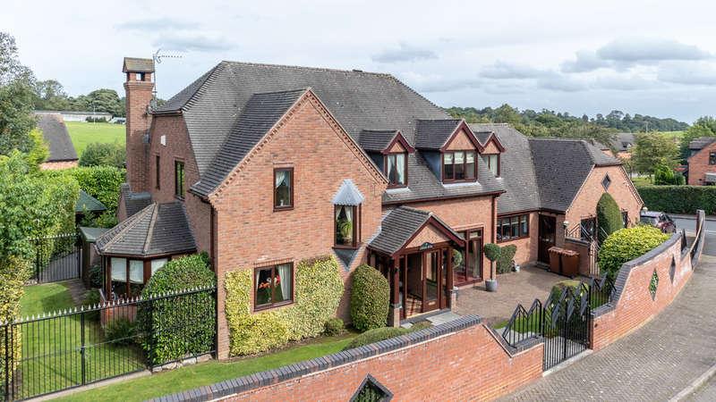 4 Bedrooms Detached House for sale in Barnes Croft, Hilderstone