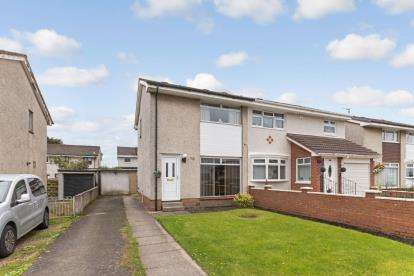 2 Bedrooms Semi Detached House for sale in Earlston Crescent, Carnbroe