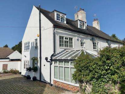 4 Bedrooms Semi Detached House for sale in Rectory Avenue, Wollaton, Nottingham, Nottinghamshire