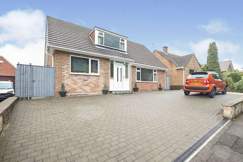 3 Bedrooms Detached Bungalow for sale in Woodside Close, Chesterfield, Derbyshire, S40