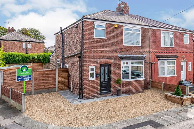 3 Bedrooms Semi Detached House for sale in Clovelly Road, Swinton, M27