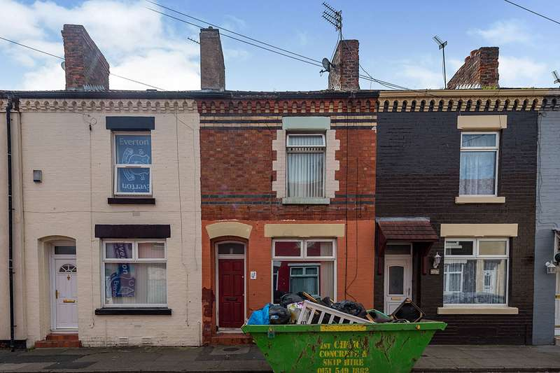 3 Bedrooms House for sale in Andrew Street, Liverpool, Merseyside, L4