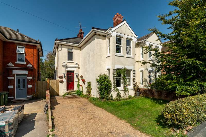 4 Bedrooms Semi Detached House for sale in Station Road, Netley Abbey, Southampton, Hampshire. SO31 5AE