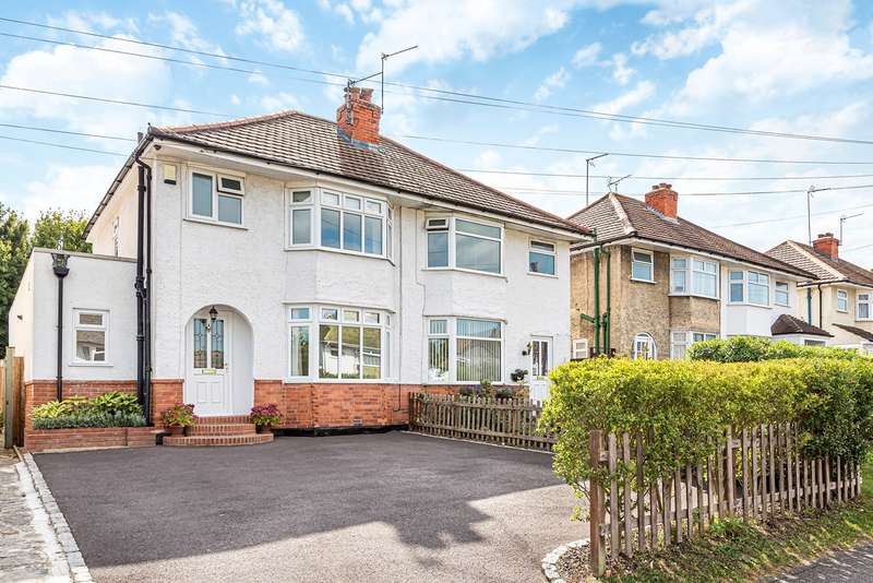 3 Bedrooms Semi Detached House for sale in Winchester Road, Basingstoke, RG21