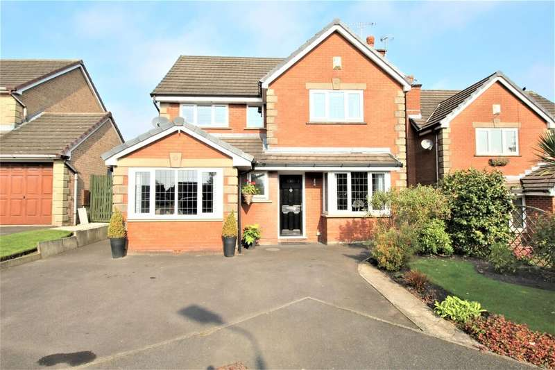 4 Bedrooms Detached House for sale in Brooksbottoms Close, Ramsbottom, Bury, BL0