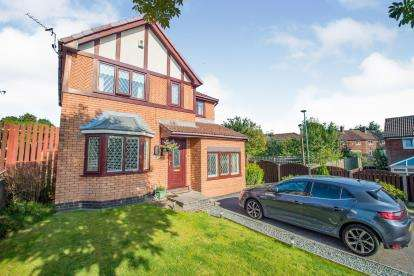 4 Bedrooms Detached House for sale in Highfield Glen, Ashton-Under-Lyne, Tameside, Greater Manchester