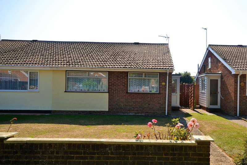 2 Bedrooms Semi Detached Bungalow for sale in Elm Road , St Mary's Bay