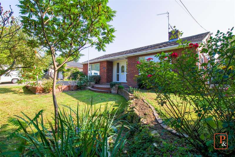 3 Bedrooms Detached Bungalow for sale in Fordsview, Newbridge Hill, West Bergholt, Colchester, CO6