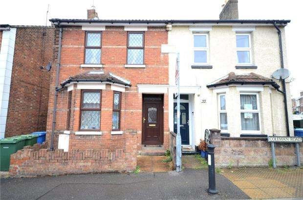 3 Bedrooms Semi Detached House for sale in Coleman Road, Aldershot, Hampshire