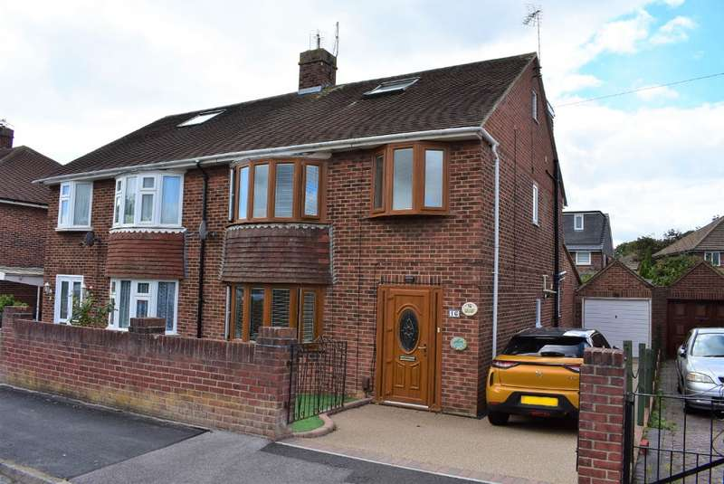 4 Bedrooms Semi Detached House for sale in Waterworks Road, Farlington, Portsmouth, PO6 1NJ