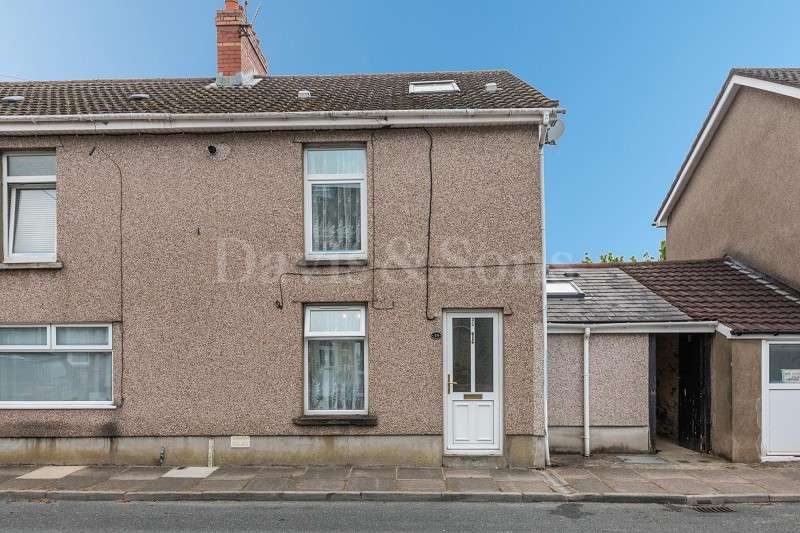 2 Bedrooms End Of Terrace House for sale in Brookland Road, Risca, Newport. NP11 6BH