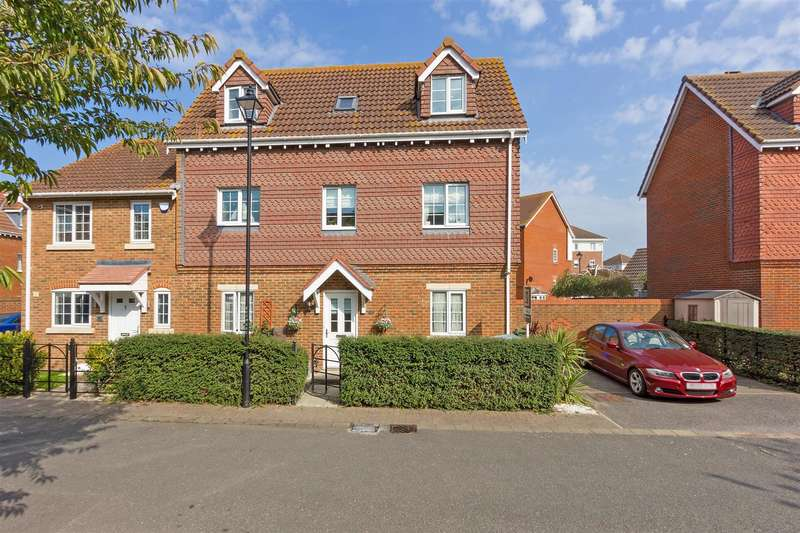 4 Bedrooms Semi Detached House for sale in Emerald Crescent, Sittingbourne