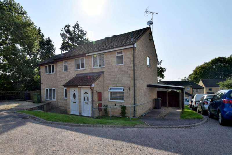 2 Bedrooms Semi Detached House for sale in Frithwood Close, Brownshill, Stroud, GL6