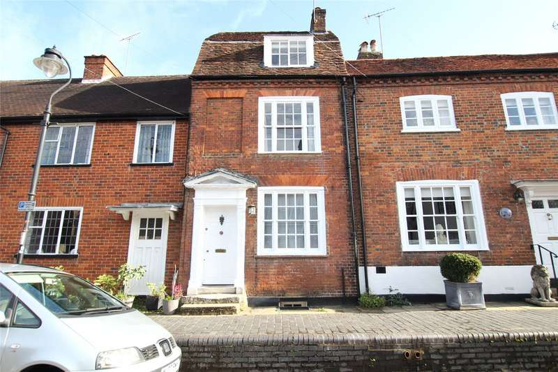 3 Bedrooms Terraced House for sale in Fishpool Street, St. Albans, Hertfordshire, AL3