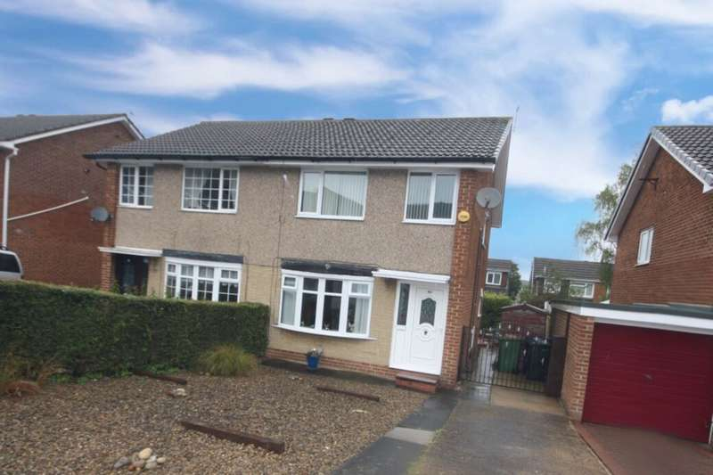 3 Bedrooms Semi Detached House for sale in Aldenham Road, Guisborough, TS14