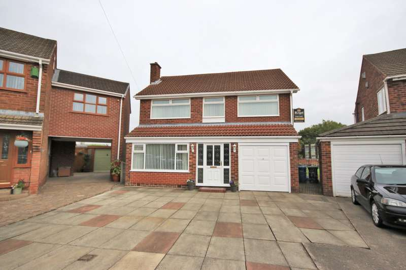 5 Bedrooms Detached House for sale in Annesley Crescent, Goose Green, Wigan, WN3 6RY