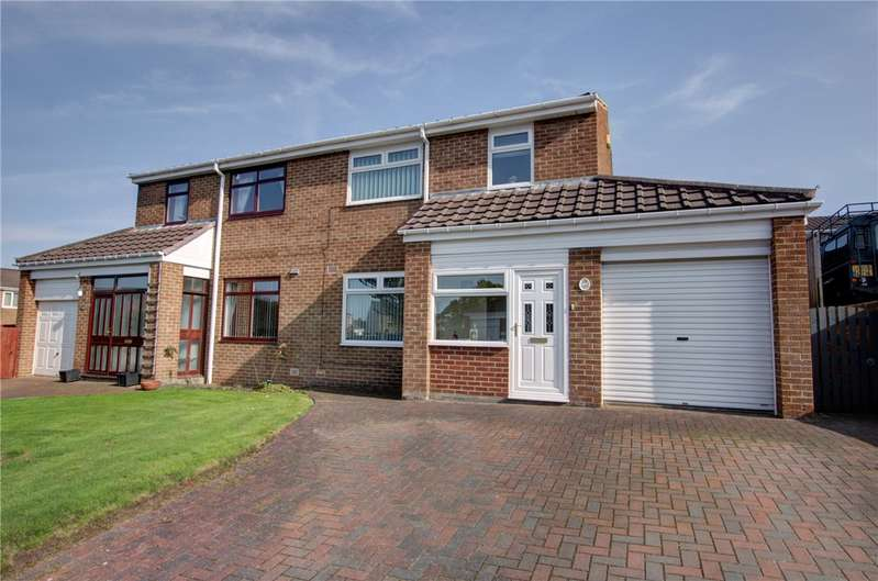 3 Bedrooms Semi Detached House for sale in Patterdale Mews, Leadgate, Consett, DH8