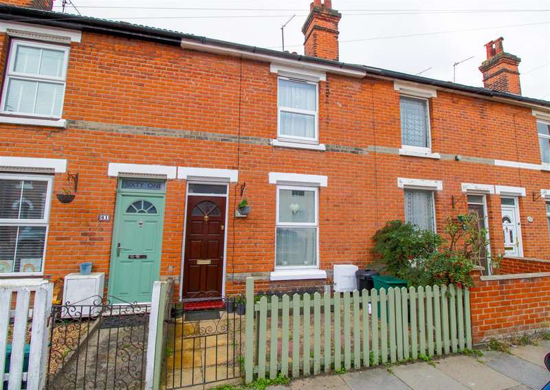 3 Bedrooms Terraced House for sale in Canterbury Road, New Town, Colchester, CO2