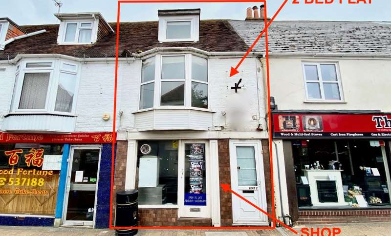 2 Bedrooms Apartment Flat for sale in St. James Street, Newport, Isle of Wight, PO30 5HE