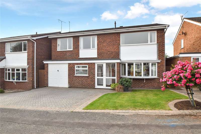 5 Bedrooms Detached House for sale in The Heights, Worcester, Worcestershire