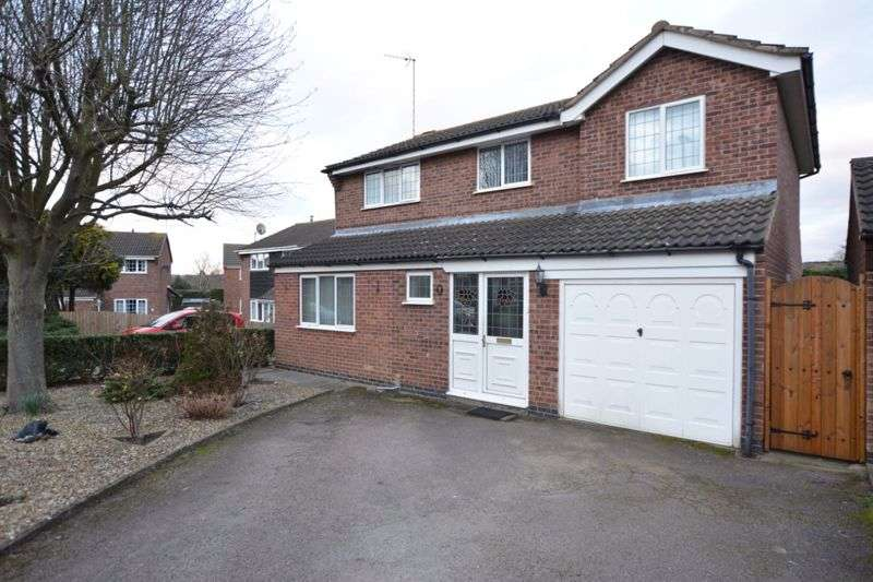 4 Bedrooms Property for sale in Ludlow Close, Leicester