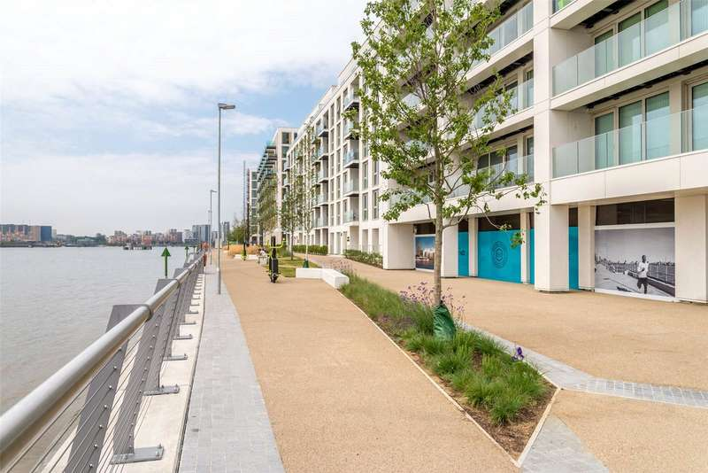 3 Bedrooms Apartment Flat for sale in Marco Polo, Royal Wharf, Docklands, E16