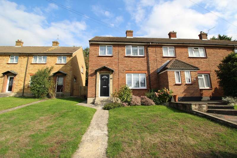 3 Bedrooms End Of Terrace House for sale in Reeves Crescent, Swanley, Kent, BR8
