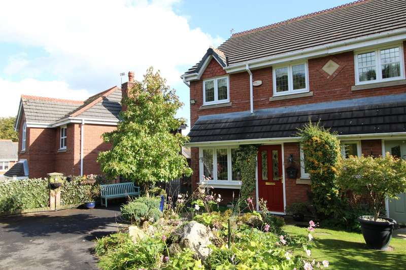 3 Bedrooms Semi Detached House for sale in Galloway Drive, Upholland, WN8