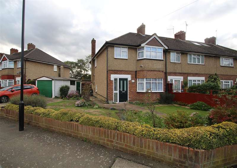 3 Bedrooms End Of Terrace House for sale in Grove Crescent, Hanworth