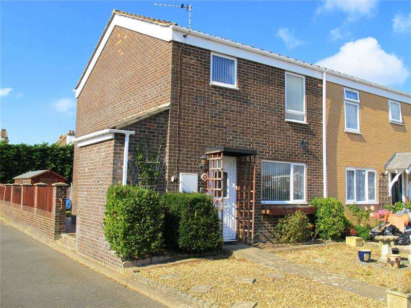 3 Bedrooms End Of Terrace House for sale in Avon Close, Lee-On-The-Solent, Hampshire, PO13