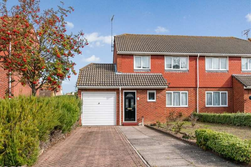 3 Bedrooms Semi Detached House for sale in Westmarsh Drive, Margate, CT9