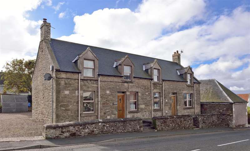 4 Bedrooms Detached House for sale in Craiglea, Main Street West End, Chirnside, Duns