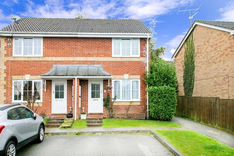 2 Bedrooms End Of Terrace House for sale in Lyndhurst Drive, Hatch Warren, Basingstoke, RG22
