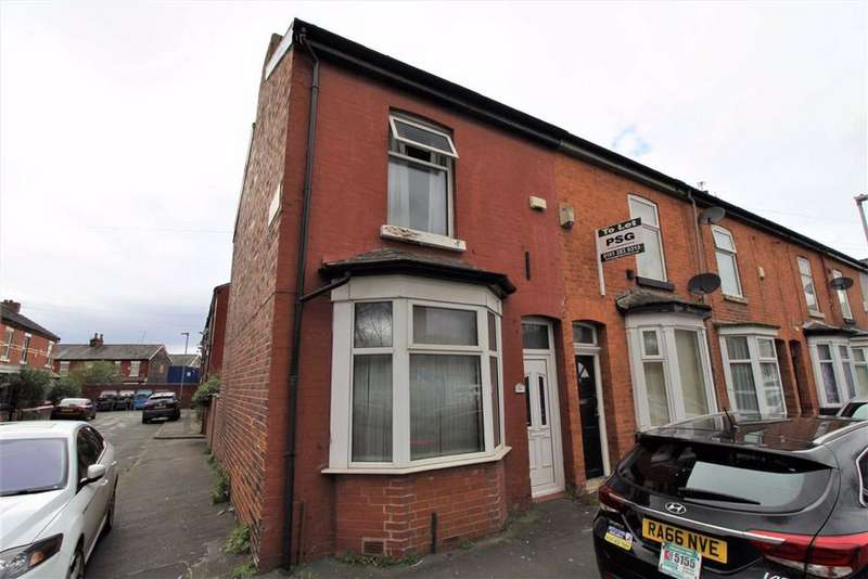 2 Bedrooms End Of Terrace House for sale in Dunstable Street, Manchester