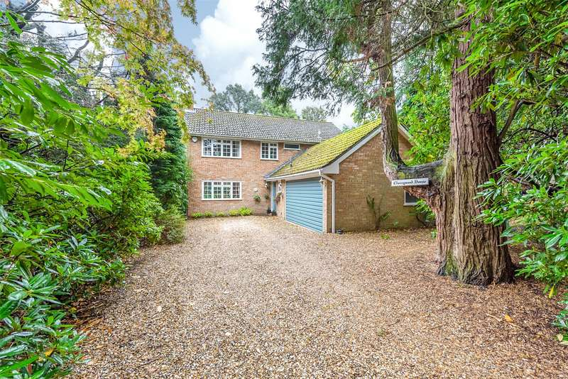4 Bedrooms Detached House for sale in Branksome Park Road, Camberley, GU15