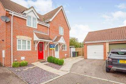 2 Bedrooms Semi Detached House for sale in Wymondham, Norwich, Norfolk
