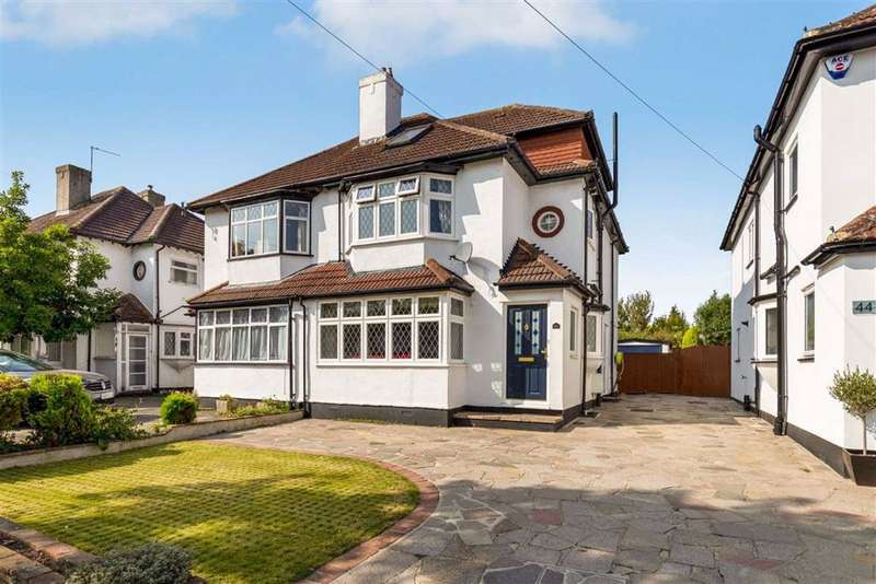 4 Bedrooms Semi Detached House for sale in Crescent Drive, Petts Wood, Kent