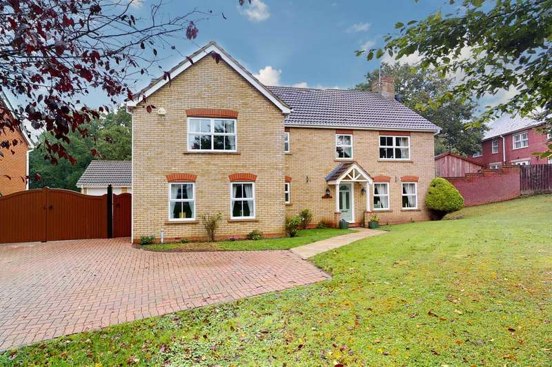 5 Bedrooms Detached House for sale in Maylands Drive, Great Notley